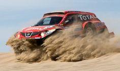 l terreno de arena será el primer obstáculo que deban enfrentar los participantes.DAKAR 2013