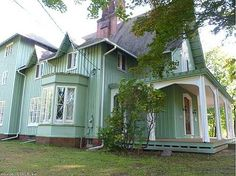 1851 Gothic Revival – South Windsor, CT (Alexander Jackson Davis) –
