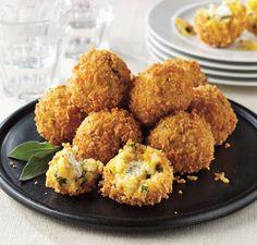 Butternut Squash & Sage Arancini Recipe: Cook Vegetarian Magazine