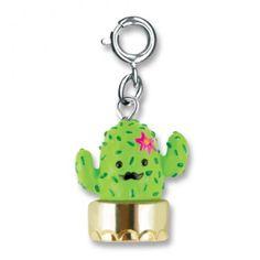 Mustache Cactus Charm - Shop CHARM IT!