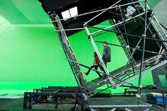 16 Photos From Behind The Scenes Of Famous Films 2