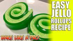 Easy JELLO Rollups Recipe - Super FAST !
