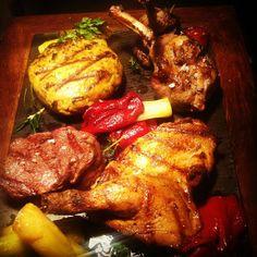 Josper meat board platter. The Press Room Bistro, Kuala Lumpur