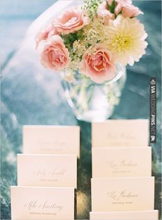 calligraphy escort cards | CHECK OUT MORE IDEAS AT WEDDINGPINS.NET | #weddings #weddingseating #weddingdecoration