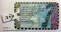 Lonely Cards art aMUSEment Week 13 - Clue