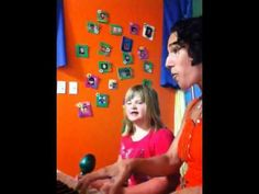 Sammy just returned from vacation to Mexico so of course her first music therapy session we had to write a song about it. So fun! So cute!