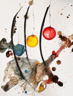 """Füllen Sie Ihre alten Rahmen mit Leben: Ich biete Ihnen als Kunstliebhaber an, ein personalisiertes ähnliches Bild meines Titels """"Sommerfest"""" nur für Sie zu erstellen. Die Aquarellpappe ist ca. 30 x 40 cm. Also sehr ausreichend für einen A4 Ausschnitt geeignet. Passe-partout wird in weiß mitgeliefert."""