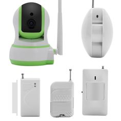 Wi-Fi IP Camera   Home Alarm System