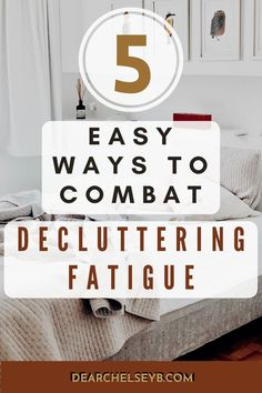 Trying to find the energy and motivation to declutter? Here's some helpful ways to get out of a decluttering funk and tidy up your space fast. #simpleliving #minimalismhacks #declutteringfatigue #minimalistlifestyle #organization #declutteringideas #feelingoverwhelmed #becomingminimalist #simplifyyourlife How To Become, How To Get, How To Plan, Decluttering Ideas Feeling Overwhelmed, Becoming Minimalist, Declutter Your Life, Minimalist Lifestyle, Tidy Up, Minimalist Bedroom