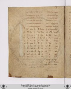 """""""A feast of strange alphabets in Vatican https://t.co/OiRqO1AuiI.338: Hebrew, Greek, Chaldean, Assyrian, Egyptian and Runes!"""""""