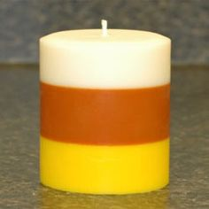 How to Make Layered Soy Pillar Candles  -- CandleScience
