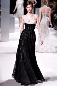 the cinderella project: because every girl deserves a happily ever after: Elie Saab Spring 2011 Couture