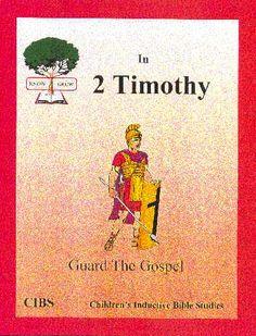 Know Bible study series / Children's Inductive Bible Studies (CIBS)