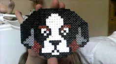 Bernese Mountain Dog Perler Bead Design That I Made Myself