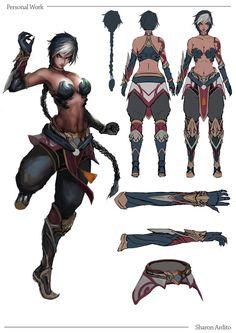 Female Character Design, Character Creation, Character Design References, Character Design Inspiration, Character Concept, Character Art, Concept Art, Fantasy Warrior, Fantasy Rpg