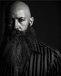 Bald With Beard, Bald Men, Epic Beard, Lee Jeffries, Bearded Men, Jon Snow, Beards, Fit, Men Beard