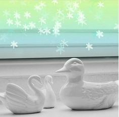 Duck, a ceramic planter sure to add some whimsy to any space! White Ducks, Ceramic Planters, Plant Holders, Vintage Ceramic, Vintage Items, Ceramics, Courtyards, Handmade, Meet