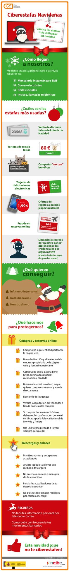 Ciberestafas navideñas