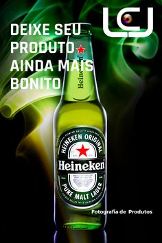 Beer Bottle, Pure Products, Heineken, Product Photography, Productivity, Pictures, Beer Bottles