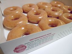 krispy kreme, best glazed donut on the planet...and when warm, best donut in the universe!