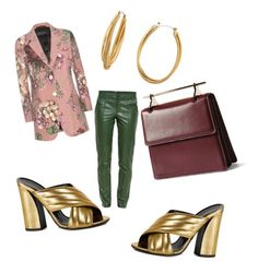 Untitled #74 by whatscooljay on Polyvore featuring polyvore, fashion, style, Gucci, M2Malletier, Diane Von Furstenberg and clothing