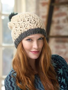 #Free #Knitting #Pattern: Lacework Hat