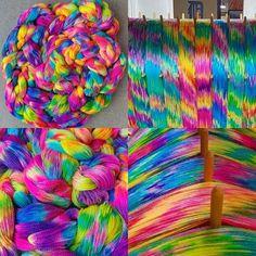 Warped Yarn