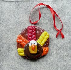 that artist woman: A Tale of Two Turkeys: Turkey #2 Salt Dough