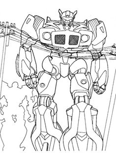 free transformers coloring pages picture 3 550x728 picture
