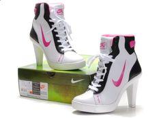 Image detail for -. Nike high heels, nike heels,jordan heels sale For Women ON UK Store womens pumps Nike High Heels, High Heels Boots, High Heel Sneakers, High Shoes, Sneaker Heels, Heeled Boots, Shoe Boots, Shoes Heels, Converse Heels
