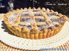 Torta co' bischeri ricetta regionale toscana | uovazuccheroefarina Croissants, Nutella, Muffin, Appetizers, Cooking Recipes, Breakfast, Desserts, Toscana, Food