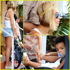 Beyonce Flaunts Longer Hair at Lunch with Jay Z & Blue Ivy!