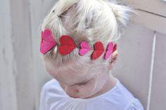 Valentine's Day *Fashion* - Felt Heart Headband