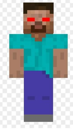 Evil evil herobrian but it's not real on minecraft :(