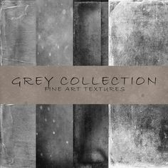 Check out The Grey Collection – Fine Art Textu by 2 Lil Owls Studio on Creative Market
