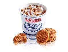 McFLURRY STROOPWAFEL | McDonald's Nederland -the best thing in the world!