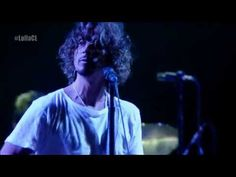 ▶ Soundgarden - Lollapalooza Chile 2014 - YouTube- Rockin' skinny pants at almost 50.  Wow.  Chris Cornell still has it.  Oh yes, he does!