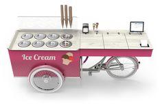 ICE CREAM BIKE – SNACK STAND – CARGO SALES BIKE   paul&ernst street food solutions