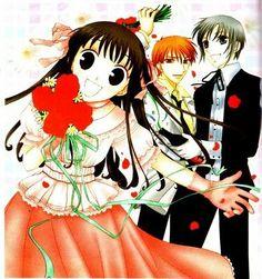 Fruits Basket~Kyo,Tohru,and Yuki Manga Art, Manga Anime, Kyo And Tohru, Barakamon, Horimiya, Fruits Basket Manga, Version Francaise, Anime Reviews, Another Anime