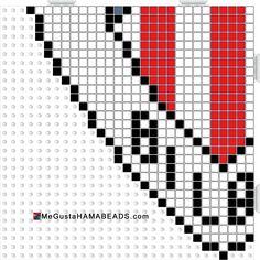 hama beads athletic club 3