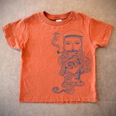 Salty Sea Toddler Tee Orange now featured on Fab.