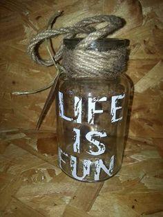 Life is fun. Facebook: Being creative
