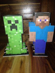 Minecraft centerpiece/statue