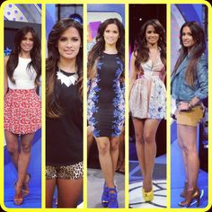 This weeks looks which is your favorite ?? Mon-Fri #rocsi #fashion #style #heels #dress #shoes #106andpark