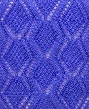 Diamond Lace Knit Stitch http://knitchart.com/category/diamond-knit-patterns.html