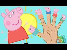 PEPPA PIG Familia Dedo | Canciones Infantiles | Dibujos Animados - YouTube
