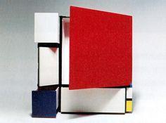 aqqindex:  Shiro Kuramata, Homage to Mondrian