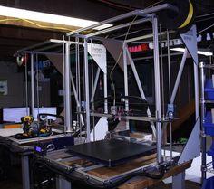 The BP475 Large Format Desktop 3D Printer: Made With Carbon Fiber #3DPrinting