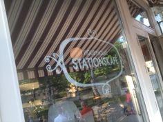 Viggbyholms Stationskafe Stockholm Restaurant, Restaurants, Neon Signs, Diners, Restaurant