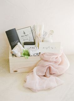 Photography: http://www.kristenbeinke.com | Read More: https://www.stylemepretty.com//www.stylemepretty.com/vault/image/6395515   My Lovely Events Vintage Rentals Wedding Planning Gift Box